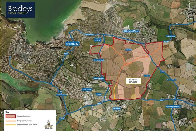 Thumbnail Property for sale in Hendra, Newquay, Cornwall