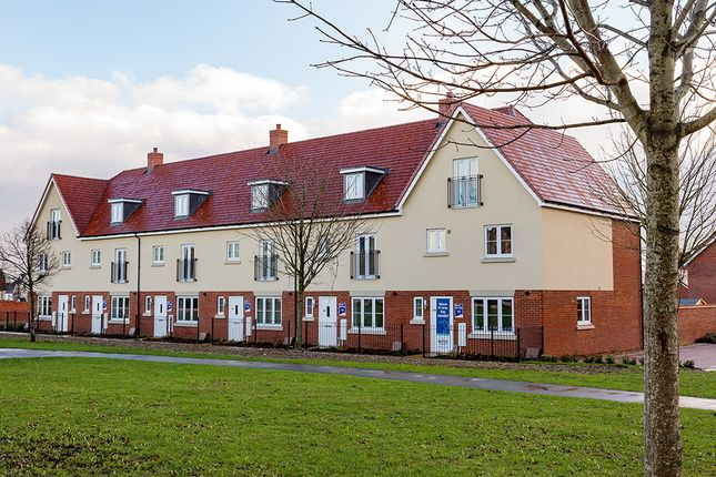 "Thumbnail Terraced house for sale in ""The Allington"" at Princess Way, Amesbury, Salisbury"