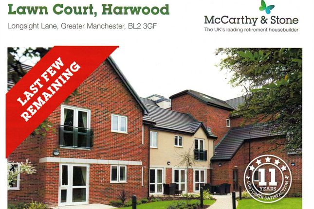 Thumbnail Flat for sale in Lawn Court, Longsight Lane, Harwood