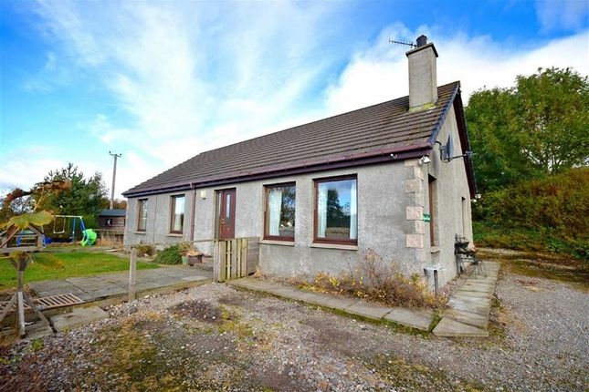 Thumbnail Detached bungalow for sale in Tomintoul Road, Grantown-On-Spey