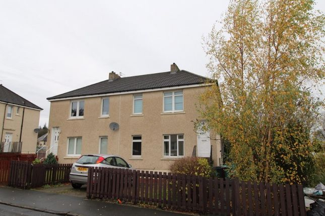 Thumbnail Flat to rent in Ivanhoe Crescent, Wishaw, North Lanarkshire