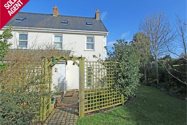 Thumbnail Semi-detached house to rent in Les Croutes, St. Peter Port, Guernsey