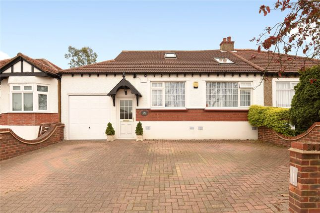 Thumbnail Semi-detached bungalow for sale in Lyndhurst Gardens, Pinner, Middlesex