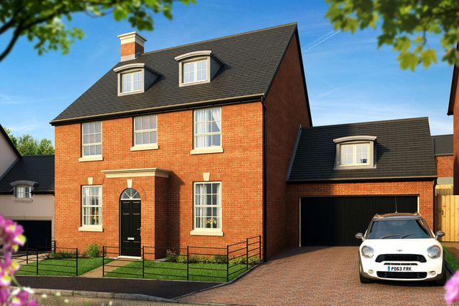 "Thumbnail Detached house for sale in ""The Henrietta "" at Pitt Road, Winchester"