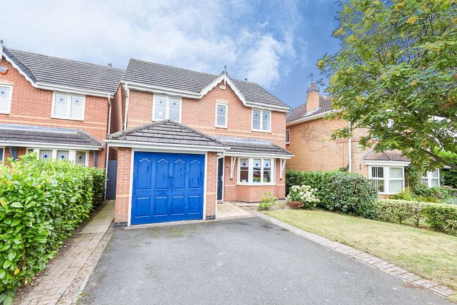 Thumbnail Detached house for sale in Fairford Gardens, Littleover, Derby
