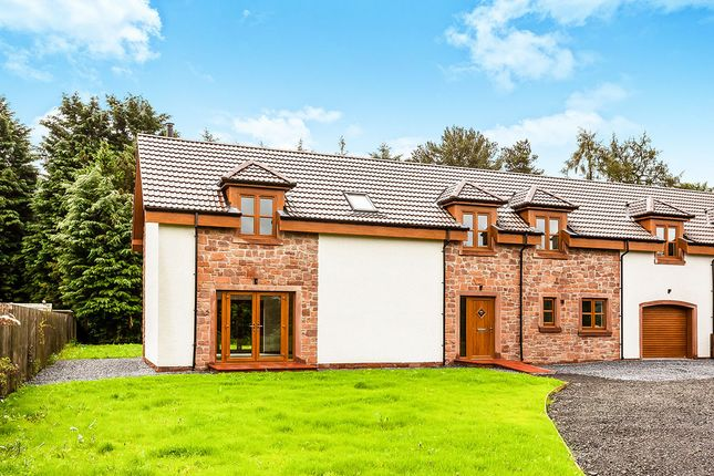 Thumbnail Semi-detached house for sale in East Leys Steading, Errol, Perth