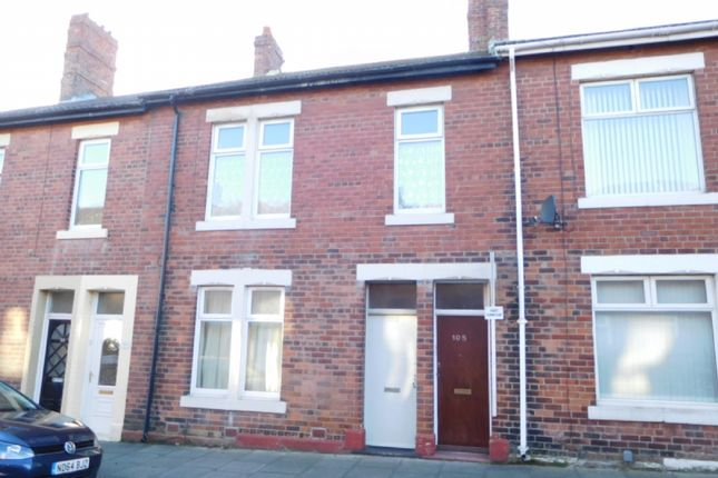 Thumbnail Flat to rent in Elsdon Terrace, North Shields