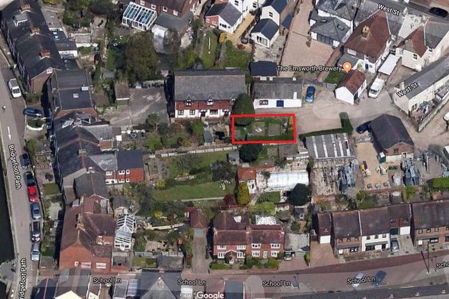 Thumbnail Land for sale in Bridgefoot Path, Emsworth