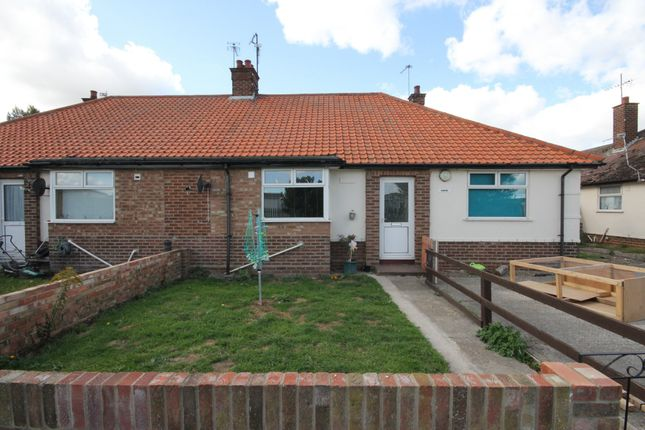 Thumbnail Semi-detached bungalow to rent in John Road, Caister-On-Sea, Great Yarmouth
