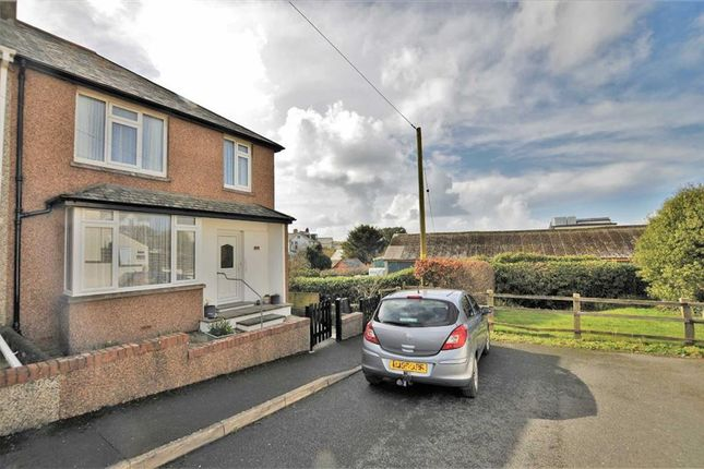 Thumbnail Semi-detached house for sale in Fairfield Road, Bude, Cornwall