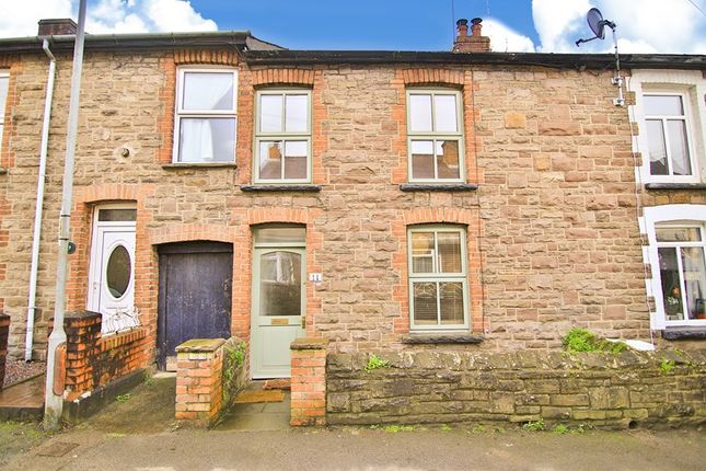 Thumbnail Terraced house for sale in Prospect Road, Abergavenny