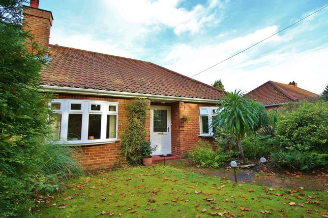 Thumbnail Semi-detached bungalow for sale in Fakenham Road, Taverham, Norwich