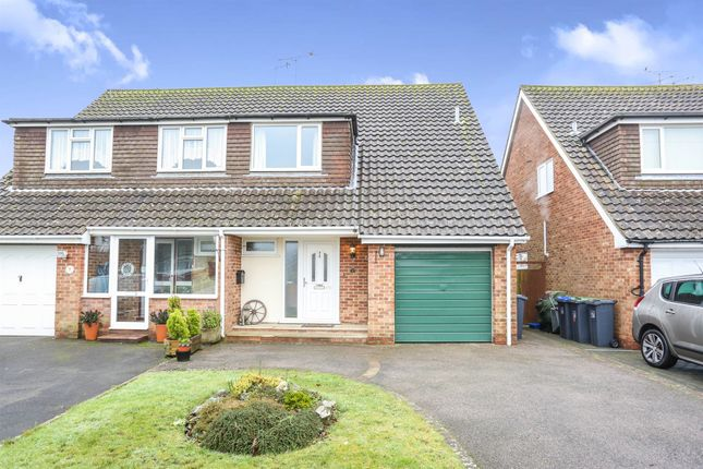 3 bed semi-detached house for sale in Tyne Close, Worthing