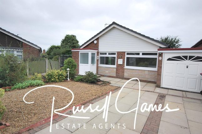 Thumbnail 2 bed semi-detached bungalow to rent in Sandringham Road, Boothstown, Manchester
