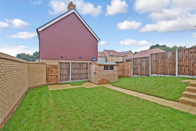 Rear Garden of Colyn Drive, Maidstone, Kent ME15