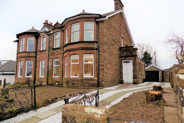 Thumbnail Semi-detached house for sale in Crosshill Road, Strathaven, 6Dt, Strathaven