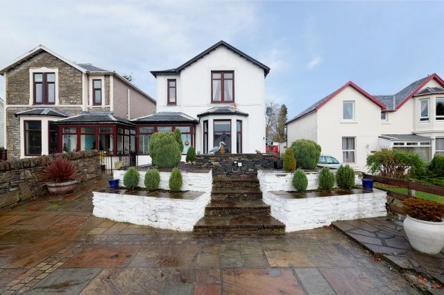 Thumbnail Detached house for sale in Auchamore Road, Dunoon