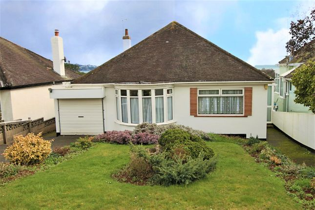 Thumbnail Detached bungalow for sale in Baymount Road, Paignton