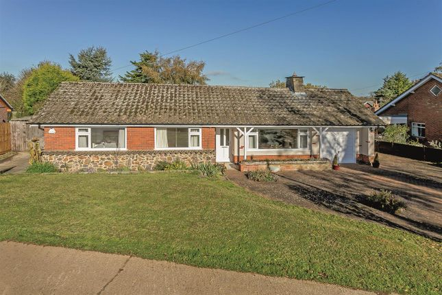 Thumbnail Detached bungalow for sale in Shearsby, Lutterworth, Leicestershire
