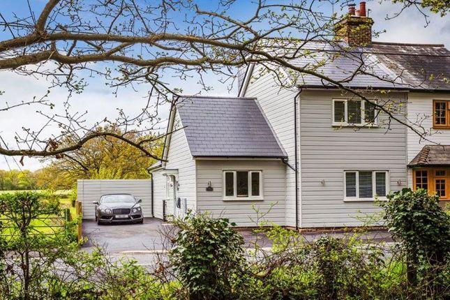 Thumbnail Semi-detached house for sale in Main Road, Crockham Hill, Edenbridge