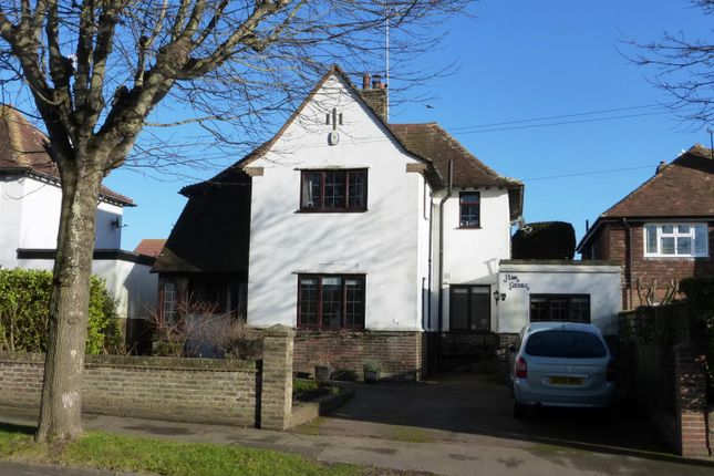 Thumbnail Detached house for sale in Downs Road, Seaford