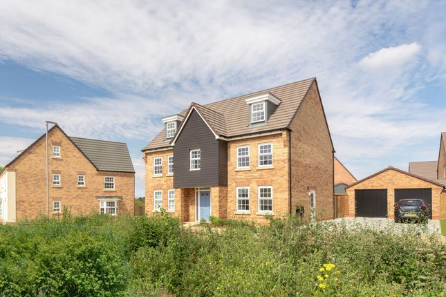 "Thumbnail Detached house for sale in ""Lichfield"" at Carters Lane, Kiln Farm, Milton Keynes"