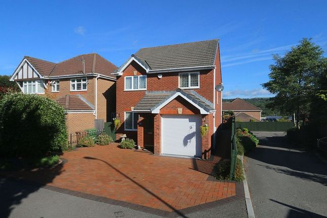 Thumbnail Detached house for sale in Tir-Berllan, Oakdale, Blackwood, Caerffili