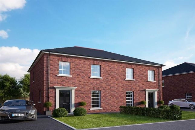 Thumbnail Semi-detached house for sale in Old Church Heights, Derriaghy Road, Lisburn