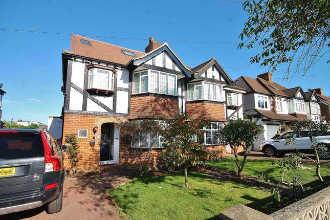 Thumbnail Semi-detached house to rent in Cuddington Avenue, Worcester Park