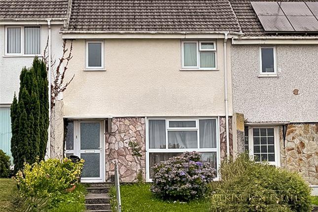 Thumbnail Terraced house for sale in Lynher Drive, Saltash