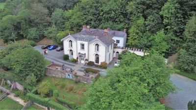Thumbnail Hotel/guest house for sale in Dolforwyn Hall, Abermule, Montgomery, Powys