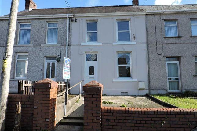 Thumbnail Terraced house for sale in Cwmphil Road, Lower Cwmtwrch, Swansea