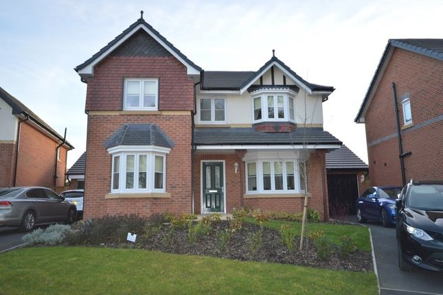 Thumbnail Detached house for sale in The Laurels, Weeton, Preston