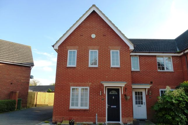 Thumbnail Property to rent in Kingfisher Road, Attleborough