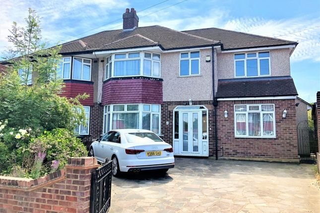 Thumbnail Semi-detached house for sale in Nutfield Gardens, Northolt