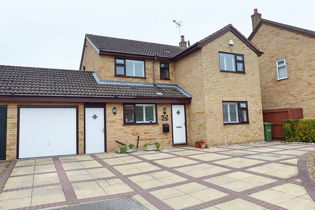 Thumbnail Detached house for sale in Beauvoir Place, Yaxley, Peterborough