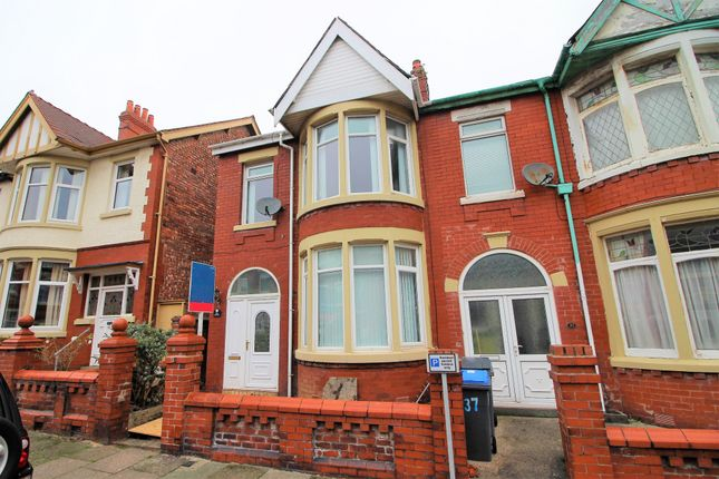 Thumbnail End terrace house to rent in Gainsborough Road, Blackpool, Lancashire