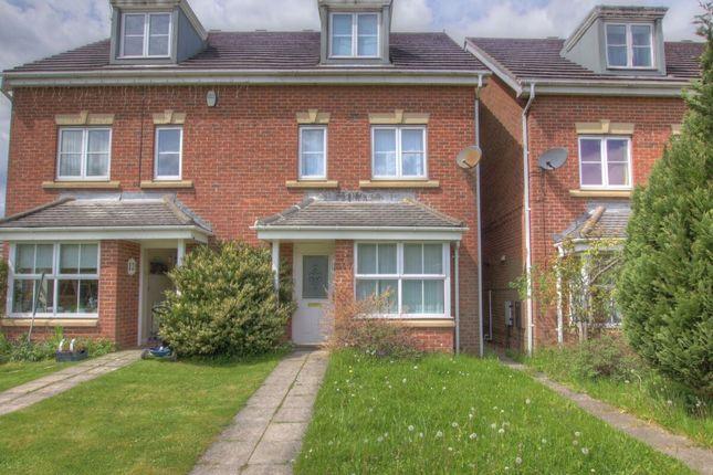 Semi-detached house for sale in Fenwick Way, Consett