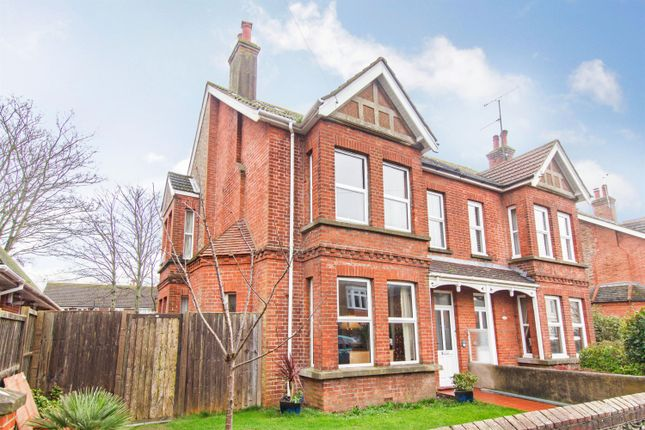 Thumbnail Semi-detached house for sale in Woodlea Road, Worthing, West Sussex