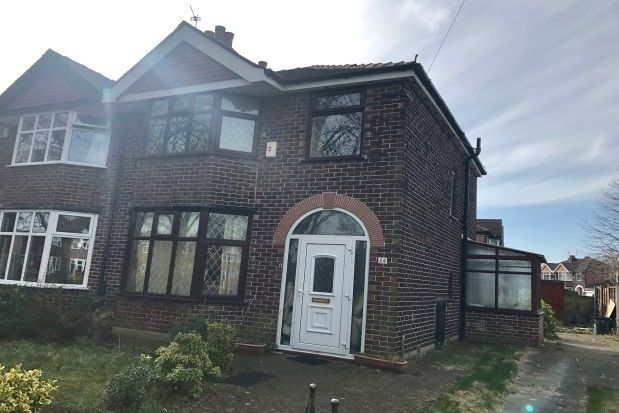 Thumbnail Semi-detached house to rent in Lostock Road, Urmston, Manchester