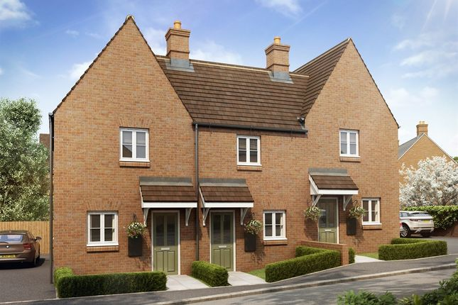 "Thumbnail End terrace house for sale in ""The Eydon"" at Heathencote, Towcester"