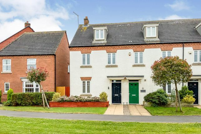 3 bed town house for sale in Freshman Way, Market Harborough LE16