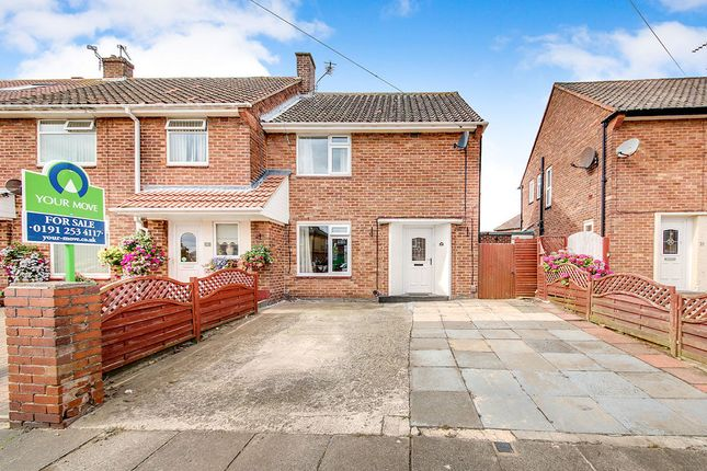 Thumbnail Semi-detached house for sale in Ennerdale Road, North Shields