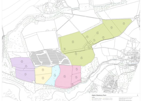 Land Plan of Tamerton Foliot, Plymouth, Devon PL5