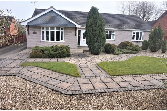 Thumbnail Detached bungalow for sale in Waltham Road, Brigsley