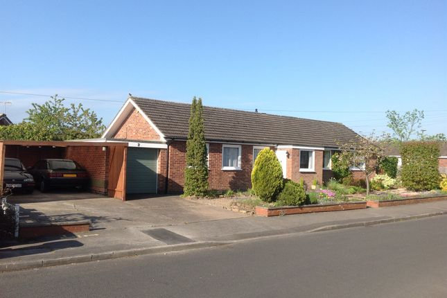 Thumbnail Detached bungalow for sale in Queens Drive, Brinsley, Nottingham