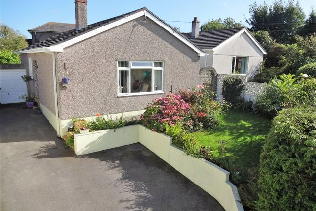Thumbnail Detached bungalow for sale in Staddiscombe Road, Old Staddiscombe Village, Plymstock, Plymouth, Devon