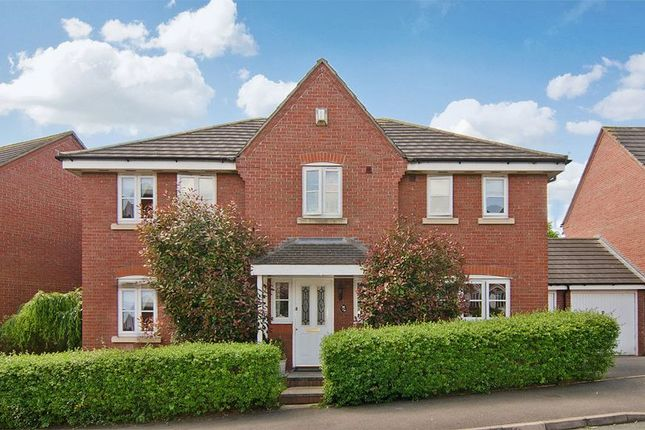 Thumbnail Detached house for sale in Nightingale Walk, St Matthews, Burntwood