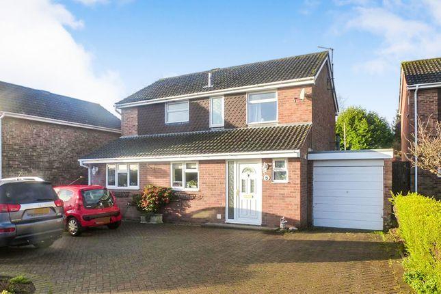 Thumbnail Detached house for sale in Cordon Crescent, Earls Barton, Northampton
