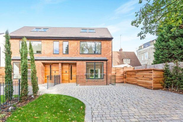 Thumbnail Semi-detached house to rent in Cambridge Park, Twickenham